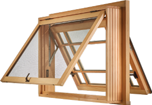 All-Wood Sedona Push out Awning